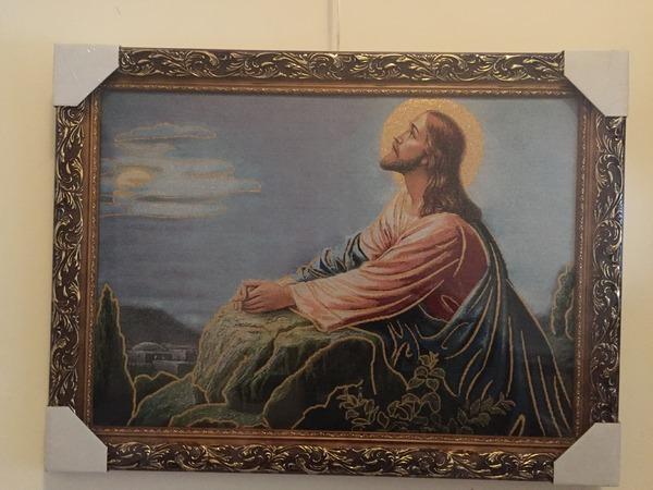 Ісус Молиться на Оливній Горі