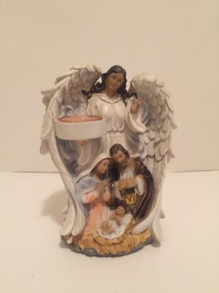 Шопка-ангелик підсвічник